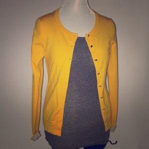 Goldenrod cardigan by Banana Republic size XS
